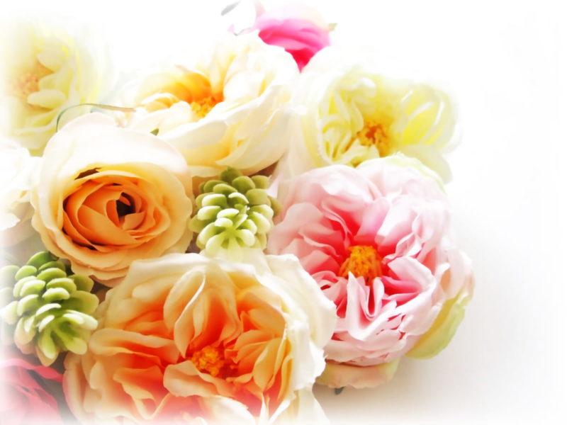 ブライダル ブーケ 造花