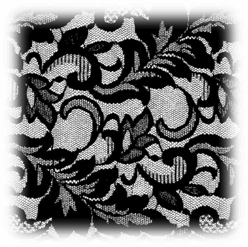 結婚式 ドレスレース 黒