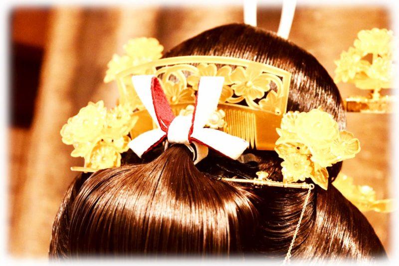 結婚式 神前式 髪型