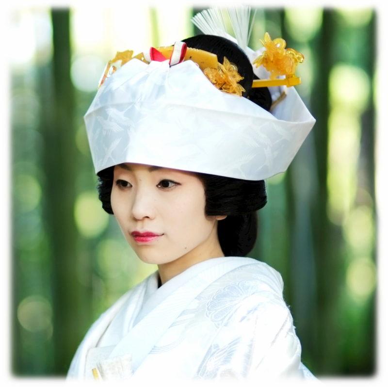 神前式 髪型 花嫁