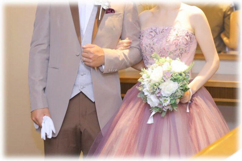 結婚式 お色直し カラードレス
