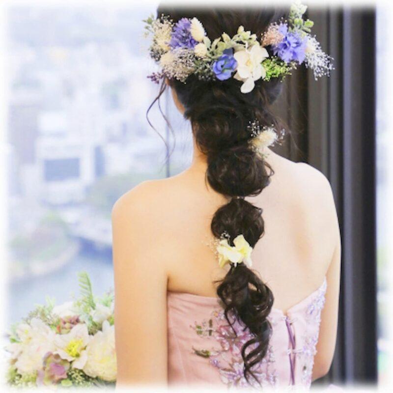 ラプンツェル カラードレス 結婚式