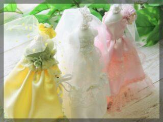 結婚式 カラードレス