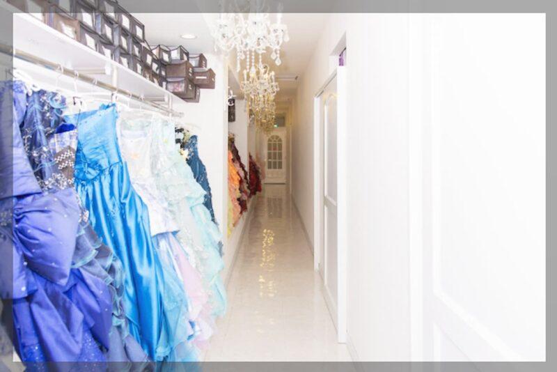結婚式 カラードレス レンタル