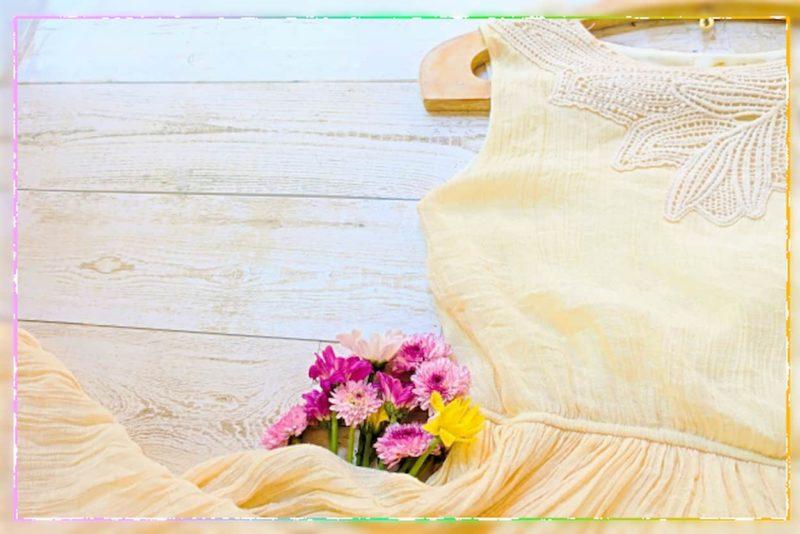 プチプラ 結婚式 コーデ