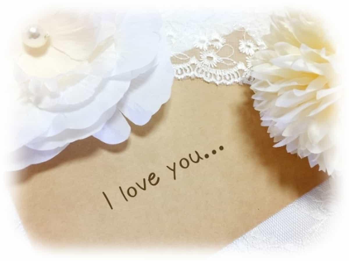 プロポーズ 手紙