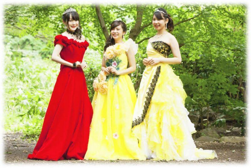 結婚式 カラードレス お呼ばれ