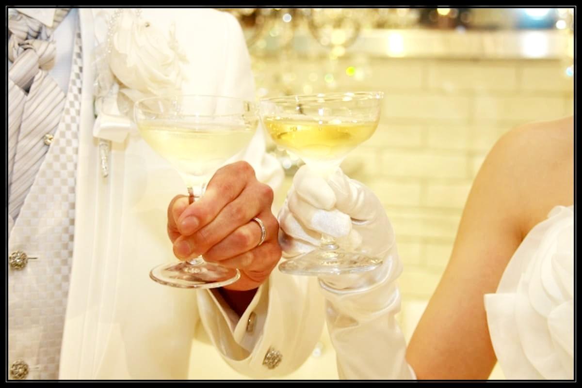 結婚式 乾杯 挨拶 新郎