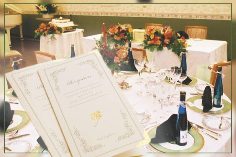 結婚式 席次表 配置 親族のみ