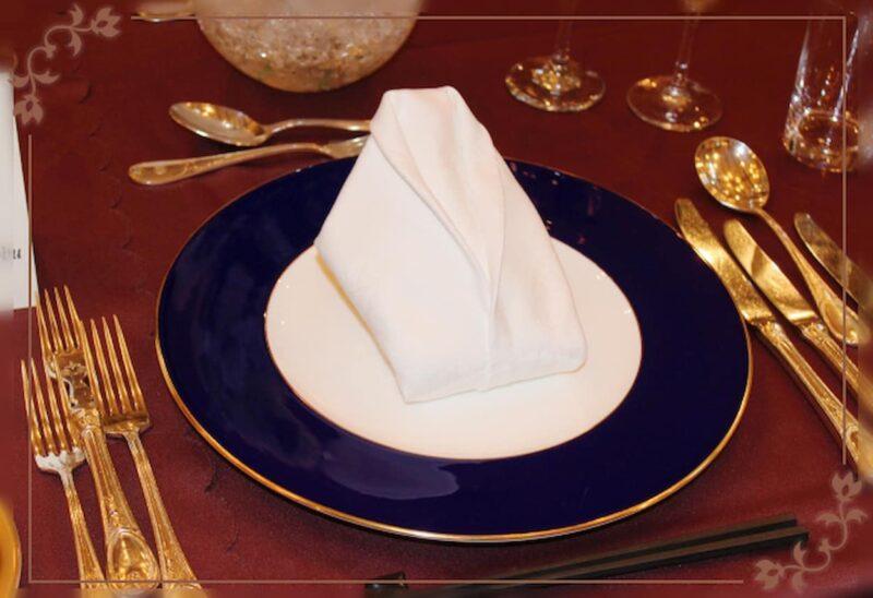 結婚式 テーブルコーディネート ゴールド