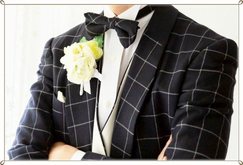 結婚式 タキシード 色