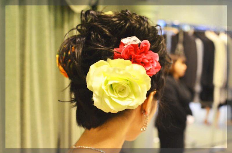 結婚式 前撮り 髪型
