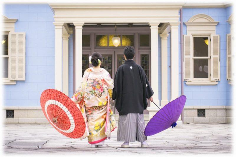 結婚式 前撮り ポーズ 面白い 和装