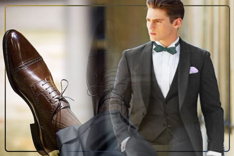 結婚式 グレースーツ 靴
