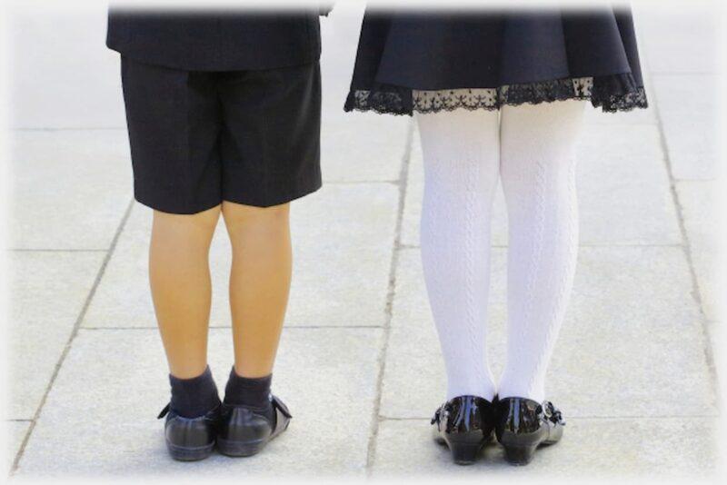 結婚式 靴下 子供