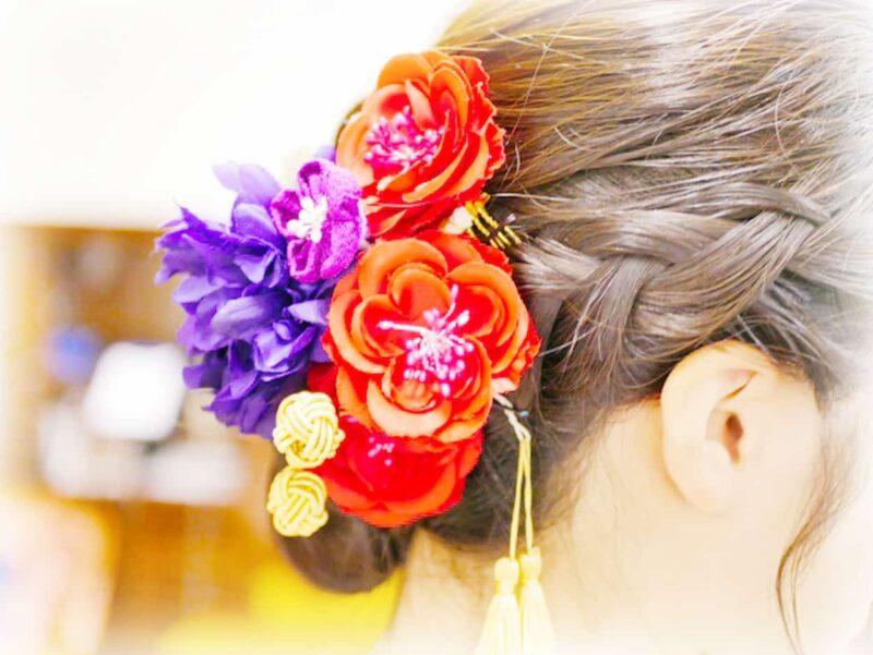 結婚式 振袖 髪飾り