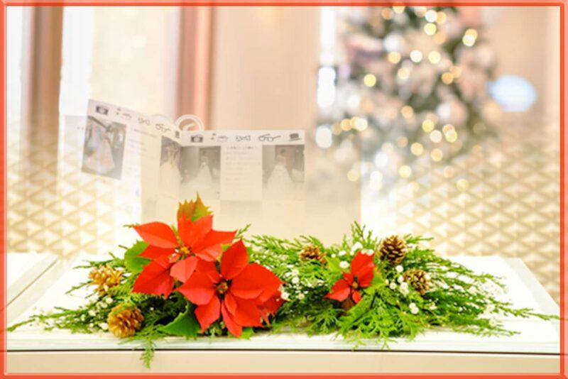 結婚式 装花 冬