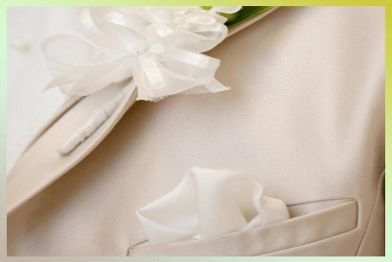結婚式 ハンカチーフ