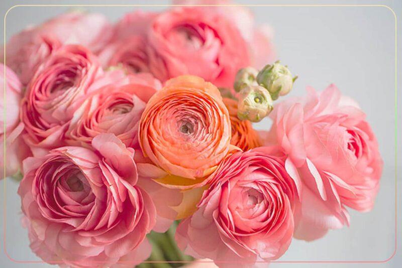 結婚式 装花 ラナンキュラス
